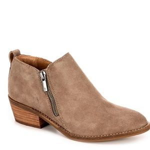 Lucky Brand faunia leather ankle boot